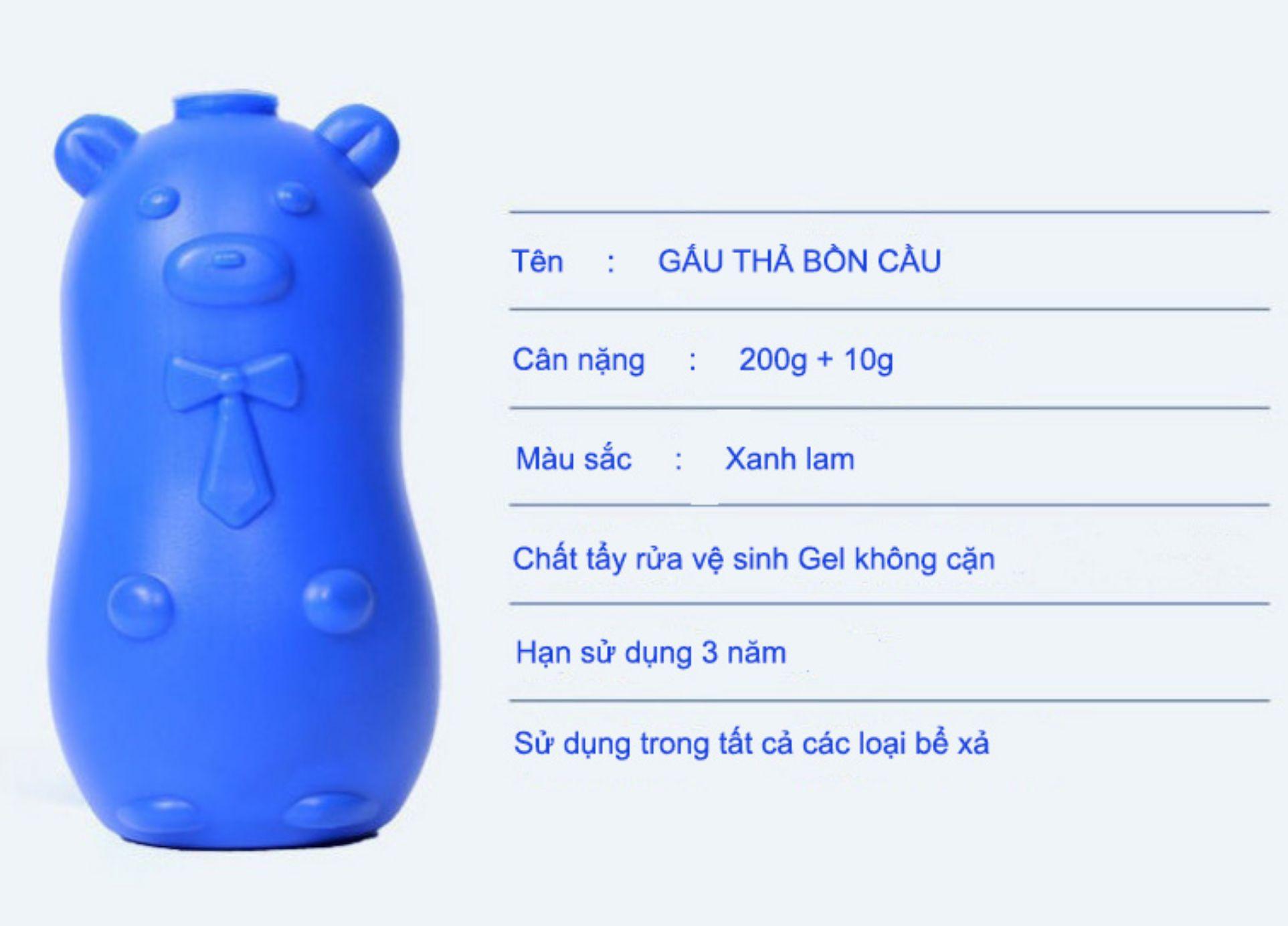 Gấu vệ sinh bồ cầu