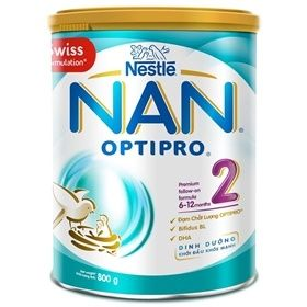 Sữa Nan Optipro 2 800g (6-12 tháng)