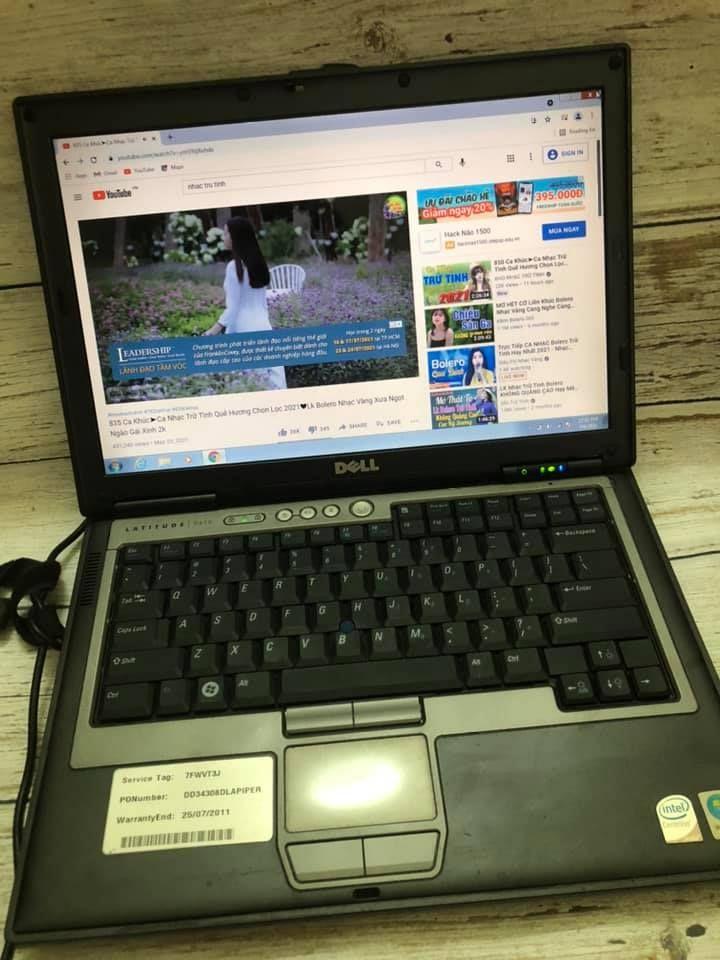 Laptop dell siêu bền
