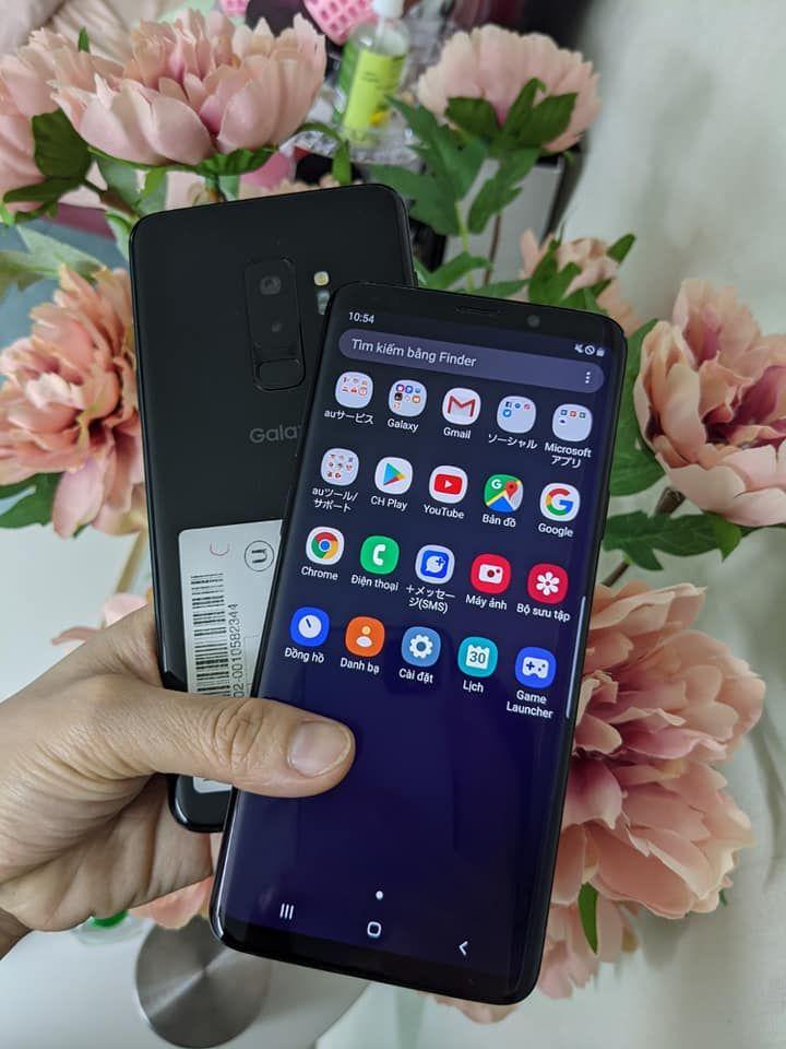 Samsung_galaxy_S9_plus au nhật