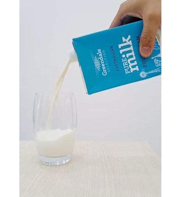 Sữa tươi nguyên kem Greendale nhập khẩu chính ngạch từ Úc