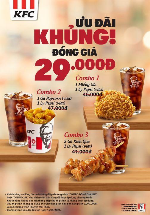 CUỐI TUẦN THẬT CHILL VÌ CÓ COMBO KFC GIÁ SIÊU YÊU