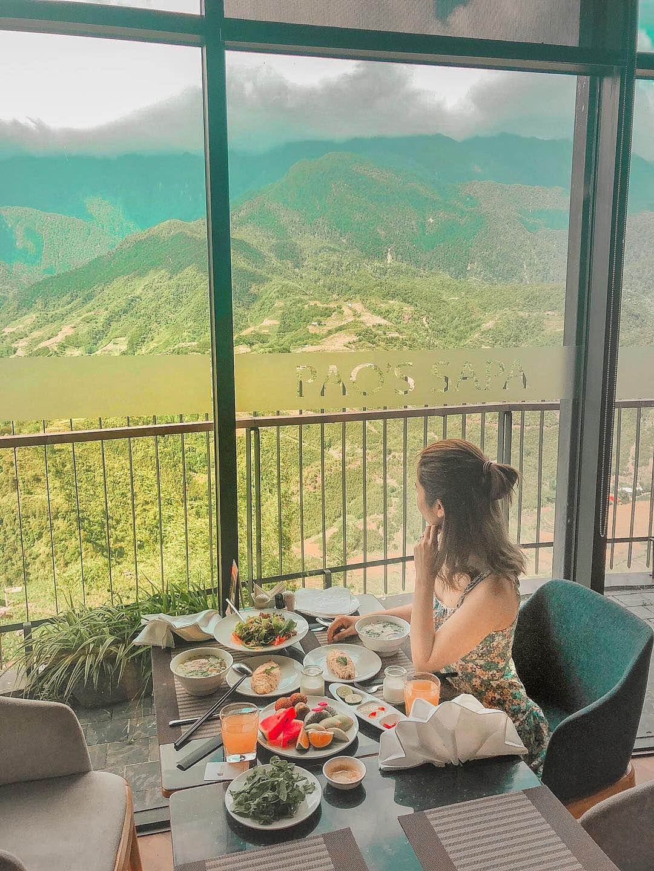 Khách sạn Pao's Sapa Leisure là khách sạn 5 sao sở hữu tầm nhìn ôm trọn núi non hùng vĩ