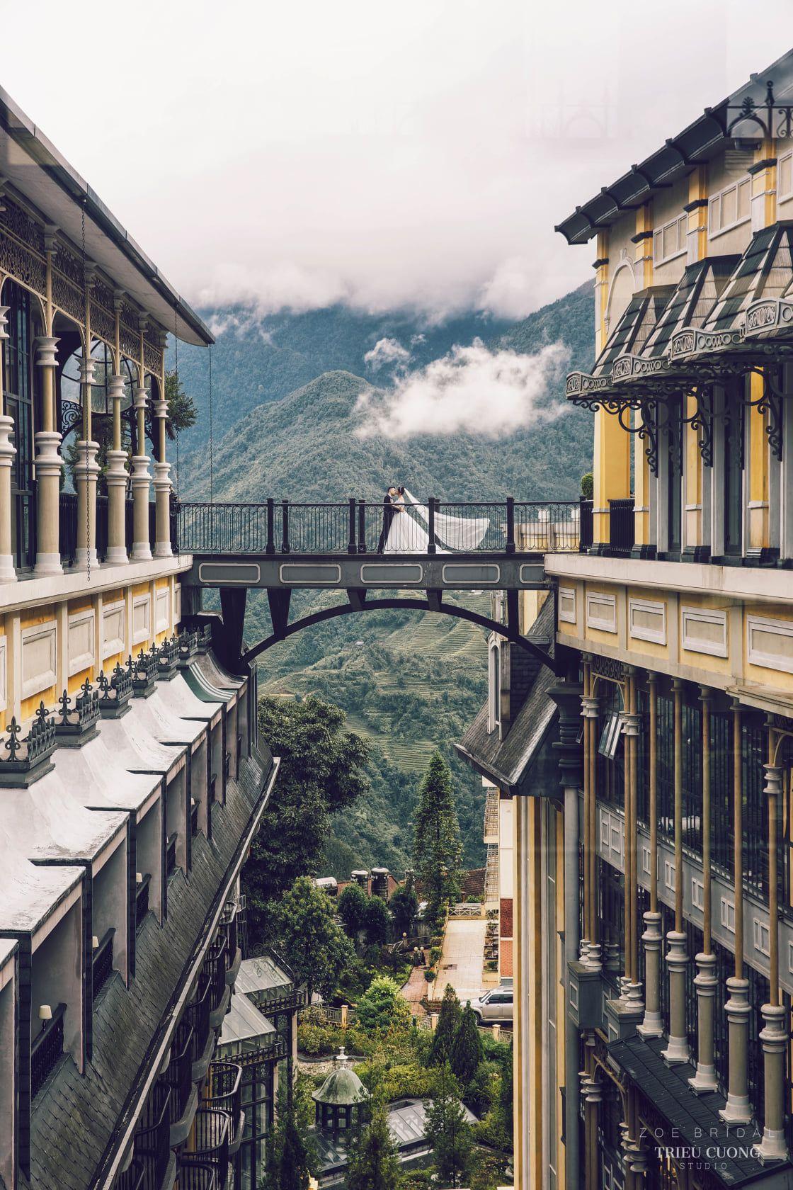 Góc check-in nổi tiếng nhất lại Hotel de la Coupole Sapa Lào Cai