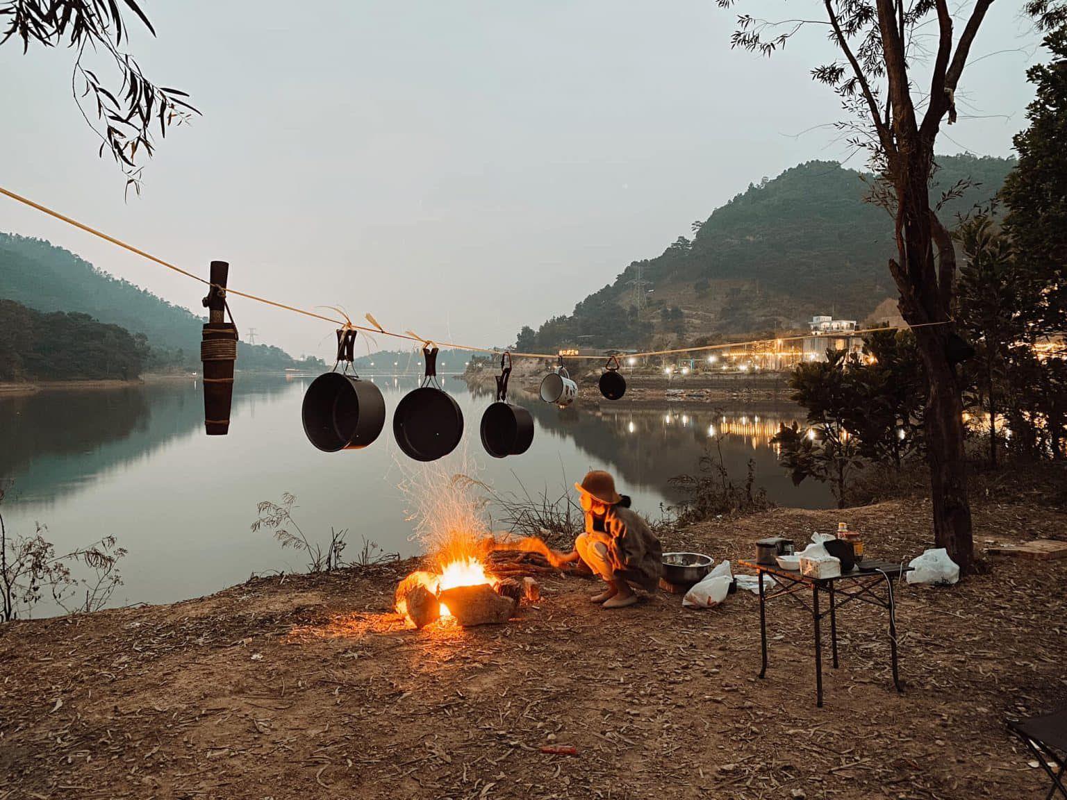 Review Cùng nhau khám phá Hồ Đồng Đò – điểm cắm trại cực chill nha 😋😋