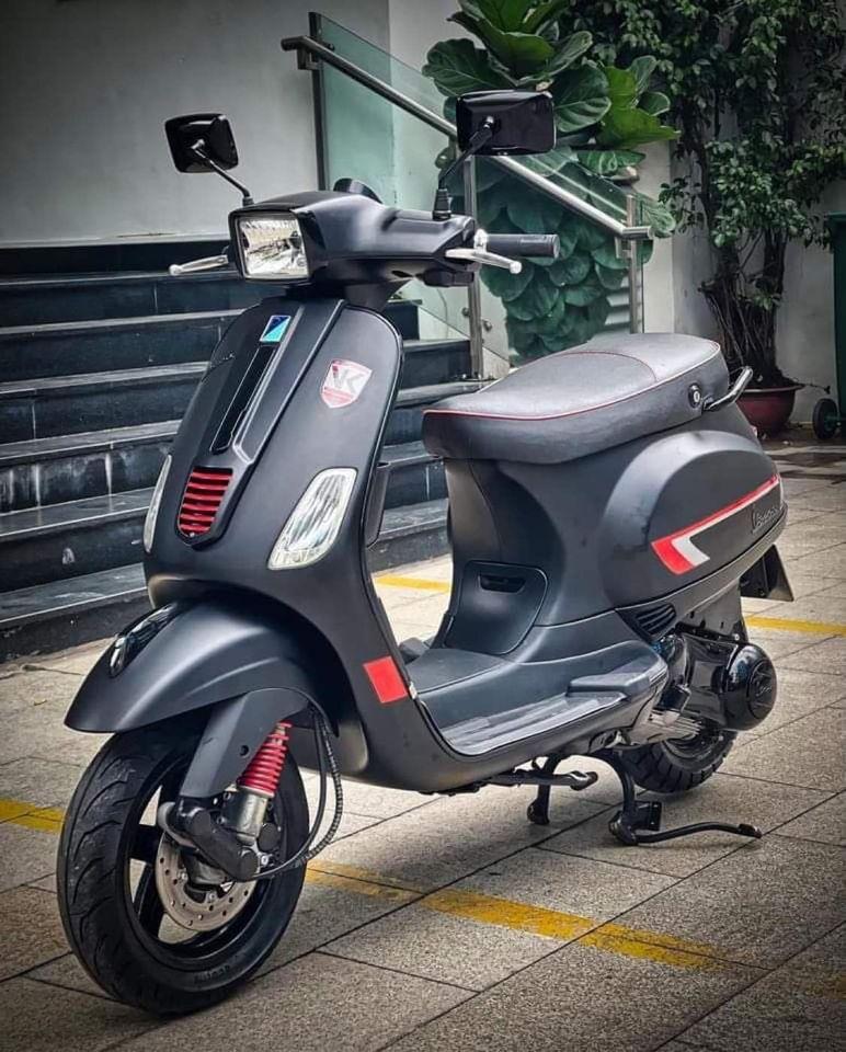 Vespa S150 3vie Đen Nhám Sporty 2012