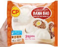 1 Bánh bao nhân thịt heo trứng cút CP