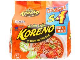 Lốc 6 gói Koreno vị kim chi
