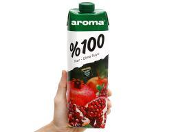 1 Nước ép lựu táo Aroma 1 lít