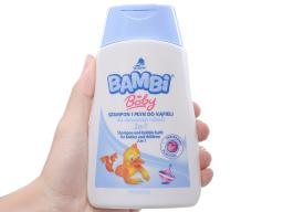 1 Tắm gội cho bé Bambi